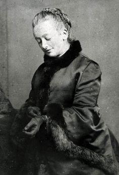 Amelia Edwards, Egyptologist, inspiration for Amelia Peabody