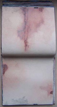 I'm searching III, carnet de travail Pigments Élisabeth Couloigner