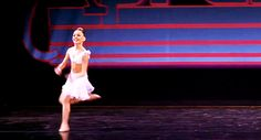 """Here she is leaping like a goddess… 
