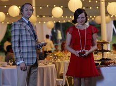 PEGGY OLSON & PETE CAMPBELL   Elizabeth Moss & Vincent Kartheiser   ©Frank Ockenfels, AMC.