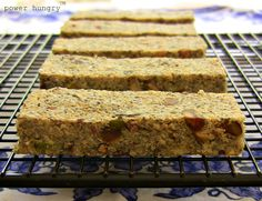 een using pea protein powder for a few years, but I want to note that I used Growing Naturals Pea Protein in these bars; the company was kin...