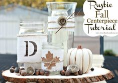 Love Of Family & Home: Rustic Fall Centerpiece Tutorial