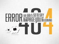{error 404