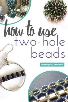How to Use SuperDuo Beads, Tila Beads, and Other Two-Hole Beads   AllFreeJewelryMaking.com