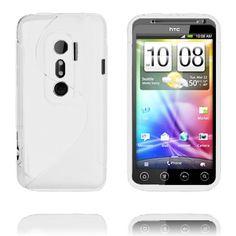 S-Line (Hvit) HTC Evo 3D Deksel