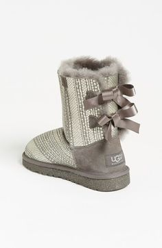 UGG® Australia 'Bailey Bow' Boot (Walker, Toddler, Little Kid & Big Kid) | Nordstrom.  Really want these for Grace.