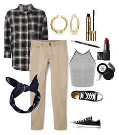 """""""Chola Style"""" by jessahh on Polyvore featuring R13, MANGO, Converse, Bling Jewelry, Miss Selfridge, Urban Decay, NARS Cosmetics and Napoleon Perdis"""