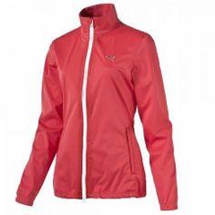 Vêtements de golf Femme - Tenue de pluie de golf Puma rouge - Consulter les tailles disponibles sur notre site golfplus.fr