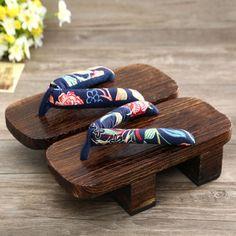 Clogs-shoes-Japanese-geta-sandals-high-heeled-sandals-women-wood-Flip-Flops
