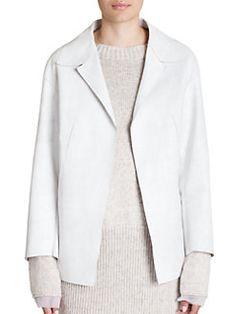Marni - Classic Leather Jacket