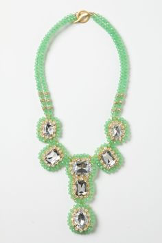 "everjade necklace from anthropologie.     (do you see why i told bart and family, ""go here. it's a pretty safe bet."")"