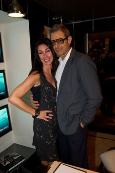 Me with Jeff Goldblum