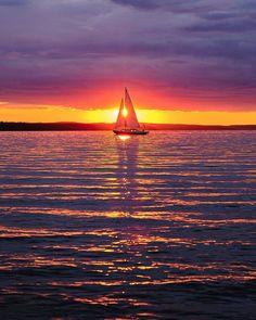 Water Lighting, Finland, Celestial, Sunset, Outdoor, Outdoors, Sunsets, Outdoor Games, The Great Outdoors
