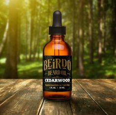 Beirdo Beard Oil / Cedarwood / 1 oz. / beard oil / beard balm