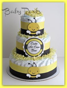 mommy to bee diaper cakes Bumble Bee Diaper Cake , Mother to Bee Baby Shower, Baby Shower . Baby Shower Diapers, Baby Shower Cakes, Baby Boy Shower, Baby Shower Gifts, Mommy To Bee, Baby Party, Baby Shower Parties, Nappy Cake, Diaper Cakes