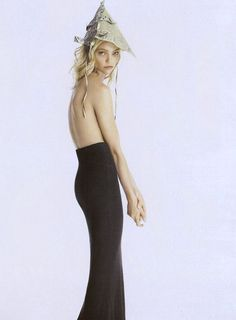 """The New Look"": Sasha Pivovarova by Corinne Day for Vogue UK September 2007"