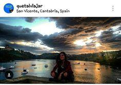 Estoy encantada!! Muchisimas graciasss @quetalviajar por incluir una vez más una de mis fotos en vuestra increíble galería!! Os invito a tod@s a visitarla es una maravilla!! #Cantabria #cantabria_y_turismo #sanvicente #quetalviajar #cantabriainfinita #sanvi #sanvicentedelabarquera by laurysomahoz