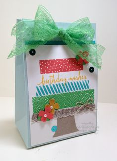 Build a Birthday and the Gift Bag Punch Board. Www.magpiecreates.com