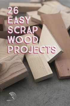 Love these! Great collection of easy DIY scrap wood projects and ideas! Small projects that are fun to make. Make organization, home decor, storage. These simple projects are perfect for beginner woodworking! #AnikasDIYLife #scrapwood #woodworking #woodworkingproject Easy Small Wood Projects, Diy Wooden Projects, Wood Shop Projects, Wood Projects For Beginners, Woodworking Projects That Sell, Wood Working For Beginners, Wooden Diy, Diy Woodworking, Wood Crafts