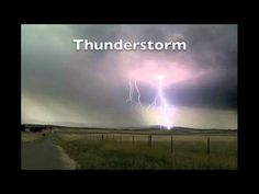 Science Educational Video for Kindergarteners explaining types of weather (4 mins long)