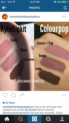 DUPES FOR KYLIE JENNER LIP KIT!!!