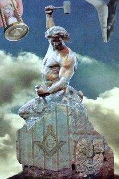 "Bobbie Carlyle's ""Self Made Man"" statue Masonic Art, Masonic Symbols, Sculpture Art, Sculptures, Templer, Eastern Star, A Course In Miracles, Best Abs, Freemasonry"