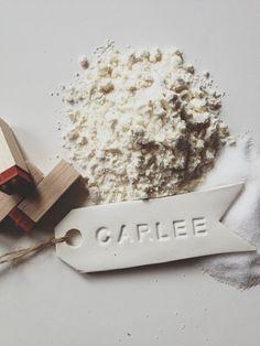 Carlee Sizemore - salt dough gift tags