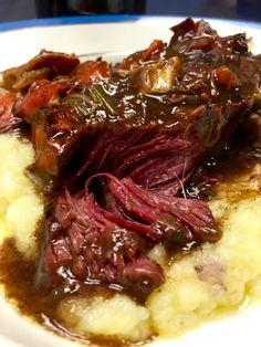 Lidia Bastianich's Beef Braised in Beer Lidia's Recipes, Wine Recipes, Cooking Recipes, Italian Dishes, Italian Recipes, Italian Entrees, Kumquat Confit, Barolo Wine, Carne Asada
