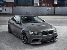 Matt Grey ... BMW M3