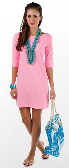 Take away the bag and the bracelet and I love this for summer.    -Lilly Pulitzer Camie Dress