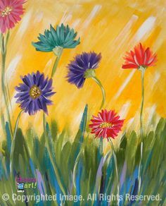 best canvas pics to paint at a party - Google Search