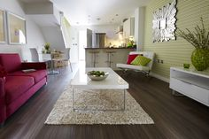 2015 interior design trends - geometric wallpaper