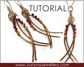 Wire Jewelry Tutorial, Wirewrapping Jewelry Tutorial, Pendant Tutorial, Spiral Earrings Tutorial, Beading Tutorial, Curved Earrings Tutorial. $4.99, via Etsy.