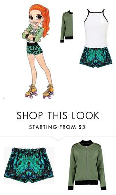 """soy luna"" by maria-look on Polyvore featuring Miss Selfridge"