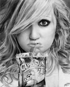 Pencil Drawing by Callie Fink