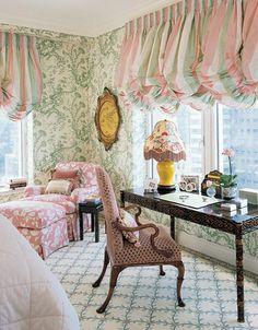 Dorothy Draper Inspired Room
