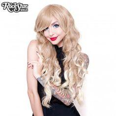 Gothic Lolita Wigs® <br> Classic Wavy Lolita™ Collection -Blonde Fade -00611 - Rockstar Wigs
