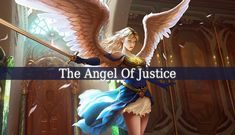 """The Angel Of Justice is one of the most powerful angels. And his name is Caliel. His name means """"The Invocable God"""". He brings justice and truth."""