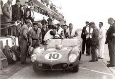 The original Ferrari 250 TRI61 at Le Mans in 1961