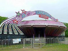 Starship 3000 Carnival Ride.