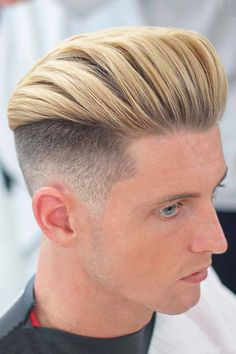 An undercut fade is a surefire way to bring both short and long mens hair styles to the whole new level of boldness. Check out these trendy ideas, which include a disconnected pompadour, a curly undercut and many other cool male hairstyles. #menshaircuts #menshairstyles #undercut #fade #undercutfade #undercutvsfade