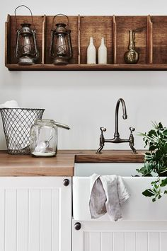 ❤️ Rustic kitchen cabinets are sometimes not made from metal. Also, it's great to have precisely what you want in your kitchen. 🔄 Rustic kitchen cabinets are sometimes not made from metal. Also, it's great to have precisely what you want in your kitchen. Farmhouse Laundry Room, Farmhouse Style Kitchen, Country Farmhouse Decor, Rustic Kitchen, Laundry Rooms, Modern Farmhouse, Small Laundry, French Kitchen, French Provincial Kitchen