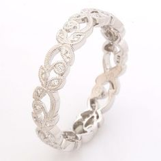Floral wedding rings - The Wedding Specialists