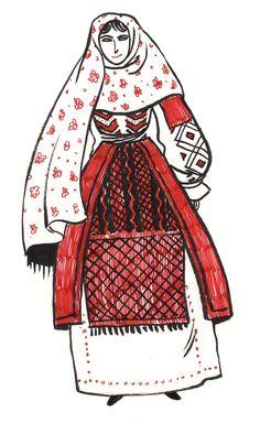 Folk Fashion Index Cultural Studies, Folk Fashion, World Cultures, Darth Vader, Poland, Fictional Characters, Vintage, Vintage Comics, Fantasy Characters