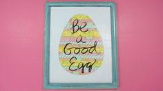 Easter Egg Wall Art