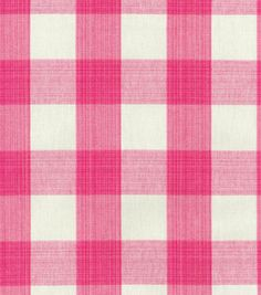 Williamsburg Upholstery Fabric-Stratford Check/Blossom