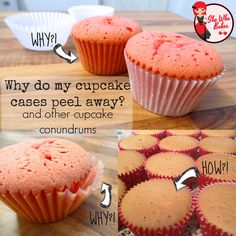 I go through the top 7 questions I get asked about baking cupcakes including peeling cases, peaking, muffin tops and sinking! I've also included my fool proof cupcake recipe and my top tips!