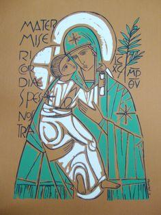 Catholic Art, Religious Art, Virgin Mary Statue, Catholic Pictures, Religion, Jesus Art, Painting Studio, Art Icon, Orthodox Icons