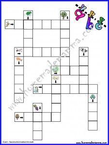 Giocare con le parole cruciverba illustrati per bambini for Cruciverba per bambini piccoli