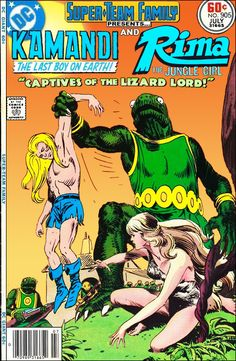 Super-Team Family: The Lost Issues!: Kamandi and Rima